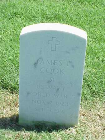 COOK (VETERAN WWII), JAMES L - Pulaski County, Arkansas | JAMES L COOK (VETERAN WWII) - Arkansas Gravestone Photos