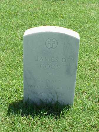 COOK (VETERAN WWII), JAMES D - Pulaski County, Arkansas | JAMES D COOK (VETERAN WWII) - Arkansas Gravestone Photos
