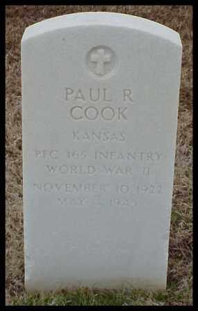 COOK (VETERAN WWII), PAUL R - Pulaski County, Arkansas | PAUL R COOK (VETERAN WWII) - Arkansas Gravestone Photos