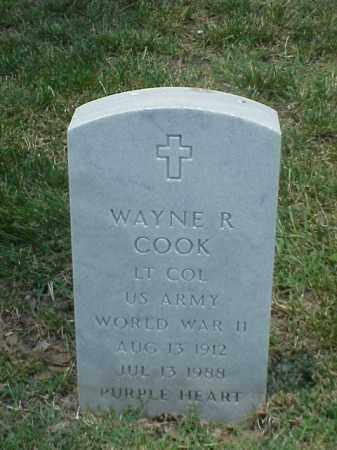 COOK (VETERAN WWII), WAYNE R - Pulaski County, Arkansas | WAYNE R COOK (VETERAN WWII) - Arkansas Gravestone Photos