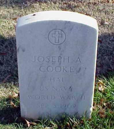 COOKE (VETERAN WWII), JOSEPH A - Pulaski County, Arkansas | JOSEPH A COOKE (VETERAN WWII) - Arkansas Gravestone Photos
