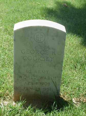COOKSEY (VETERAN WWII), GEORGE R - Pulaski County, Arkansas | GEORGE R COOKSEY (VETERAN WWII) - Arkansas Gravestone Photos
