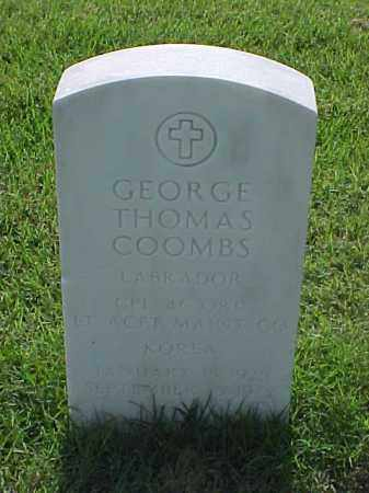 COOMBS (VETERAN KOR), GEORGE THOMAS - Pulaski County, Arkansas | GEORGE THOMAS COOMBS (VETERAN KOR) - Arkansas Gravestone Photos