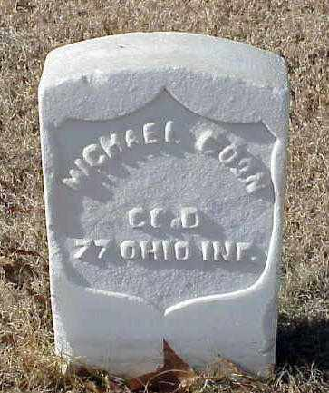 COON (VETERAN UNION), MICHAEL - Pulaski County, Arkansas | MICHAEL COON (VETERAN UNION) - Arkansas Gravestone Photos