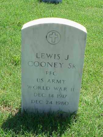COONEY, SR (VETERAN WWII), LEWIS J - Pulaski County, Arkansas | LEWIS J COONEY, SR (VETERAN WWII) - Arkansas Gravestone Photos