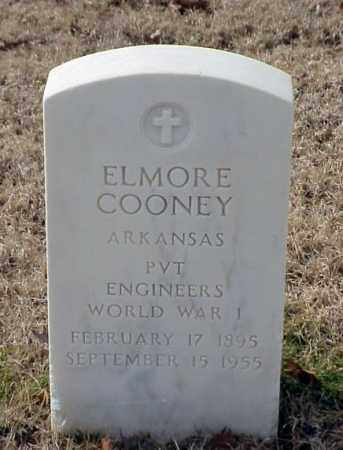COONEY (VETERAN WWI), ELMORE - Pulaski County, Arkansas | ELMORE COONEY (VETERAN WWI) - Arkansas Gravestone Photos