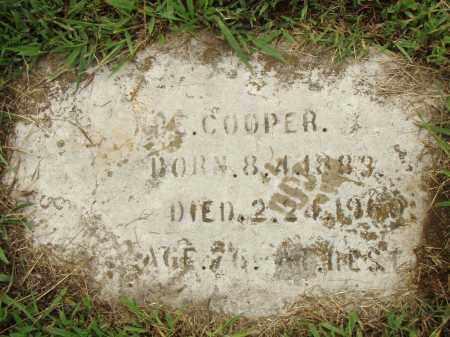 COOPER, ABE - Pulaski County, Arkansas | ABE COOPER - Arkansas Gravestone Photos