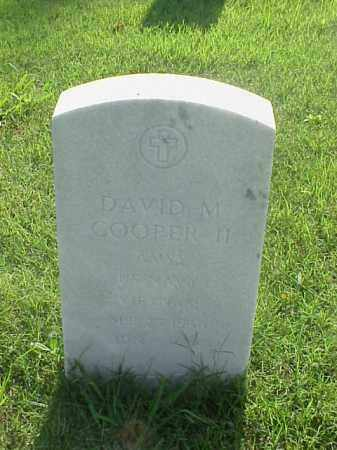 COOPER II (VETERAN VIET), DAVID M - Pulaski County, Arkansas | DAVID M COOPER II (VETERAN VIET) - Arkansas Gravestone Photos