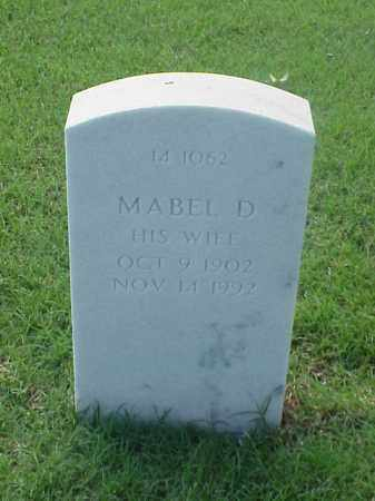 COOPER, MABEL D - Pulaski County, Arkansas | MABEL D COOPER - Arkansas Gravestone Photos