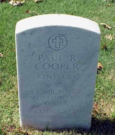 COOPER (VETERAN 2 WARS), PAUL RAY - Pulaski County, Arkansas | PAUL RAY COOPER (VETERAN 2 WARS) - Arkansas Gravestone Photos