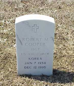 COOPER (VETERAN KOR), ROBERT M - Pulaski County, Arkansas | ROBERT M COOPER (VETERAN KOR) - Arkansas Gravestone Photos