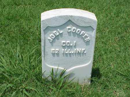 COOPER (VETERAN UNION), JOEL - Pulaski County, Arkansas | JOEL COOPER (VETERAN UNION) - Arkansas Gravestone Photos