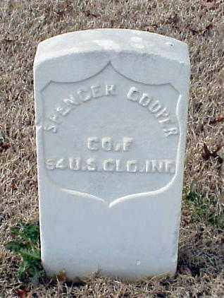 COOPER (VETERAN UNION), SPENCER - Pulaski County, Arkansas | SPENCER COOPER (VETERAN UNION) - Arkansas Gravestone Photos