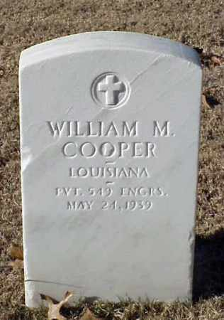 COOPER (VETERAN WWI), WILLIAM M - Pulaski County, Arkansas | WILLIAM M COOPER (VETERAN WWI) - Arkansas Gravestone Photos