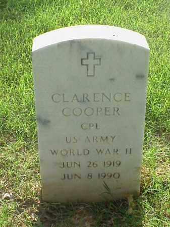 COOPER (VETERAN WWII), CLARENCE - Pulaski County, Arkansas | CLARENCE COOPER (VETERAN WWII) - Arkansas Gravestone Photos