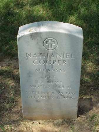 COOPER (VETERAN WWII), NATHANIEL - Pulaski County, Arkansas | NATHANIEL COOPER (VETERAN WWII) - Arkansas Gravestone Photos
