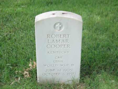 COOPER (VETERAN WWII), ROBERT LAMAR - Pulaski County, Arkansas | ROBERT LAMAR COOPER (VETERAN WWII) - Arkansas Gravestone Photos
