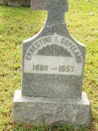COPELAND, ERNESTINE I. - Pulaski County, Arkansas | ERNESTINE I. COPELAND - Arkansas Gravestone Photos