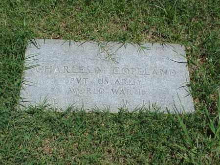 COPELAND (VETERAN WWII), CHARLES M - Pulaski County, Arkansas | CHARLES M COPELAND (VETERAN WWII) - Arkansas Gravestone Photos