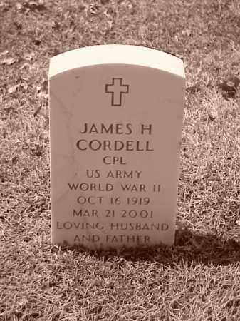 CORDELL (VETERAN WWII), JAMES H - Pulaski County, Arkansas | JAMES H CORDELL (VETERAN WWII) - Arkansas Gravestone Photos