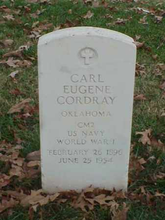 CORDRAY (VETERAN WWI), CARL EUGENE - Pulaski County, Arkansas | CARL EUGENE CORDRAY (VETERAN WWI) - Arkansas Gravestone Photos
