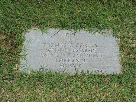 CORLEY, LOREAN J - Pulaski County, Arkansas   LOREAN J CORLEY - Arkansas Gravestone Photos