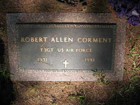 CORMENY (VETERAN), ROBERT ALLEN - Pulaski County, Arkansas | ROBERT ALLEN CORMENY (VETERAN) - Arkansas Gravestone Photos