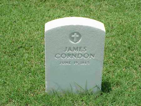 CORNDON, JAMES - Pulaski County, Arkansas | JAMES CORNDON - Arkansas Gravestone Photos