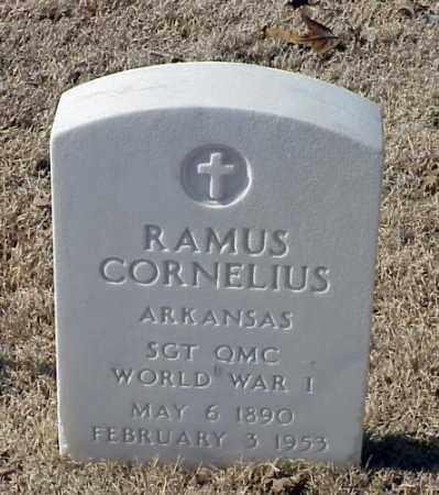 CORNELIUS (VETERAN WWI), RAMUS - Pulaski County, Arkansas | RAMUS CORNELIUS (VETERAN WWI) - Arkansas Gravestone Photos