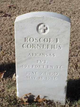 CORNELIUS (VETERAN WWII), ROSCOE L - Pulaski County, Arkansas | ROSCOE L CORNELIUS (VETERAN WWII) - Arkansas Gravestone Photos