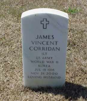 CORRIDAN (VETERAN 2 WARS), JAMES VINCENT - Pulaski County, Arkansas | JAMES VINCENT CORRIDAN (VETERAN 2 WARS) - Arkansas Gravestone Photos