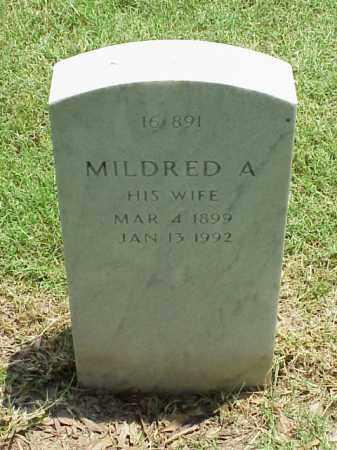 CORT, MILDRED A - Pulaski County, Arkansas   MILDRED A CORT - Arkansas Gravestone Photos