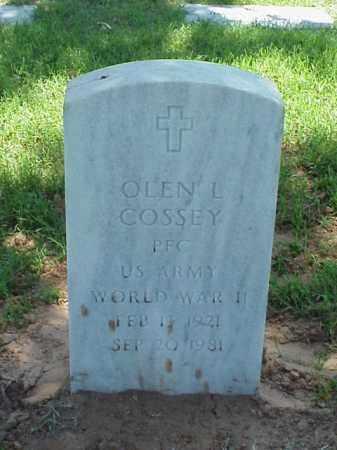 COSSEY (VETERAN WWII), OLEN L - Pulaski County, Arkansas | OLEN L COSSEY (VETERAN WWII) - Arkansas Gravestone Photos