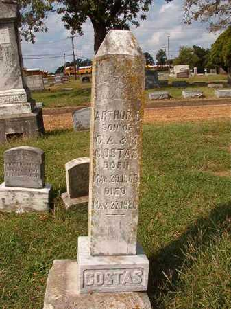 COSTAS, ARTHUR C - Pulaski County, Arkansas | ARTHUR C COSTAS - Arkansas Gravestone Photos