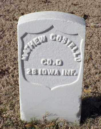 COSTELLO (VETERAN UNION), MATHEW - Pulaski County, Arkansas | MATHEW COSTELLO (VETERAN UNION) - Arkansas Gravestone Photos
