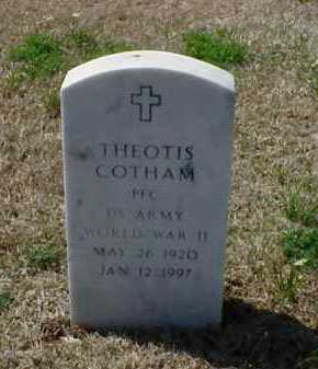COTHAM (VETERAN WWII), THEOTIS - Pulaski County, Arkansas | THEOTIS COTHAM (VETERAN WWII) - Arkansas Gravestone Photos