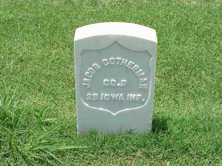 COTHERMAN (VETERAN UNION), JACOB - Pulaski County, Arkansas | JACOB COTHERMAN (VETERAN UNION) - Arkansas Gravestone Photos