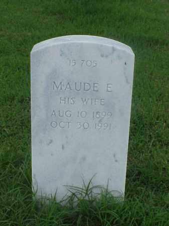 COTTON, MAUDE E - Pulaski County, Arkansas | MAUDE E COTTON - Arkansas Gravestone Photos