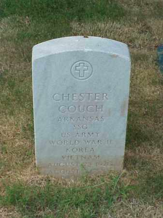 COUCH (VETERAN 3 WARS), CHESTER - Pulaski County, Arkansas | CHESTER COUCH (VETERAN 3 WARS) - Arkansas Gravestone Photos