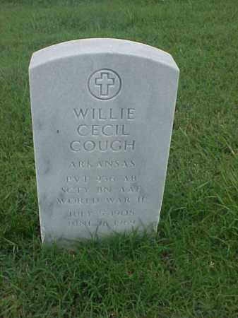 COUCH (VETERAN WWII), WILLIE CECIL - Pulaski County, Arkansas | WILLIE CECIL COUCH (VETERAN WWII) - Arkansas Gravestone Photos