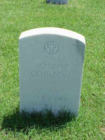 COULSON (VETERAN WWI), JOSEPH - Pulaski County, Arkansas | JOSEPH COULSON (VETERAN WWI) - Arkansas Gravestone Photos