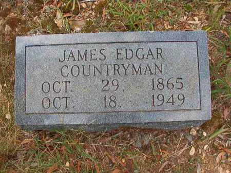 COUNTRYMAN, JAMES EDGAR - Pulaski County, Arkansas | JAMES EDGAR COUNTRYMAN - Arkansas Gravestone Photos