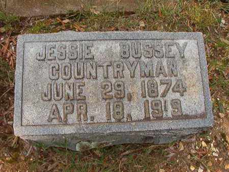 BUSSEY COUNTRYMAN, JESSIE - Pulaski County, Arkansas | JESSIE BUSSEY COUNTRYMAN - Arkansas Gravestone Photos