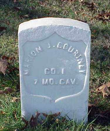 COURTNEY (VETERAN UNION), MARION J - Pulaski County, Arkansas | MARION J COURTNEY (VETERAN UNION) - Arkansas Gravestone Photos