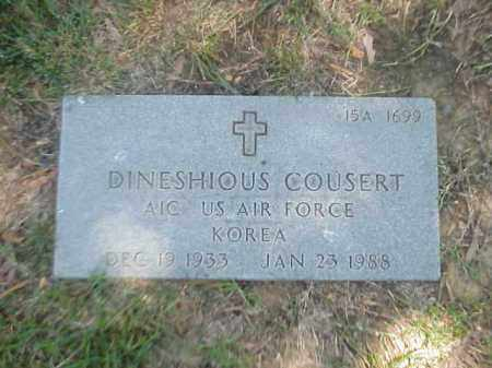 COUSERT (VETERAN KOR), DINESHIOUS - Pulaski County, Arkansas | DINESHIOUS COUSERT (VETERAN KOR) - Arkansas Gravestone Photos
