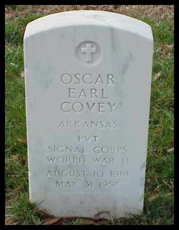COVEY (VETERAN WWII), OSCAR EARL - Pulaski County, Arkansas | OSCAR EARL COVEY (VETERAN WWII) - Arkansas Gravestone Photos