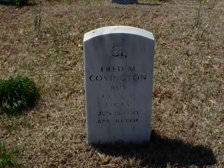 COVINGTON (VETERAN KOR), FRED M - Pulaski County, Arkansas | FRED M COVINGTON (VETERAN KOR) - Arkansas Gravestone Photos