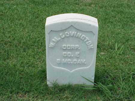 COVINGTON (VETERAN UNION), W M - Pulaski County, Arkansas | W M COVINGTON (VETERAN UNION) - Arkansas Gravestone Photos