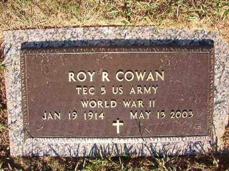 COWAN (VETERAN WWII), ROY R - Pulaski County, Arkansas | ROY R COWAN (VETERAN WWII) - Arkansas Gravestone Photos