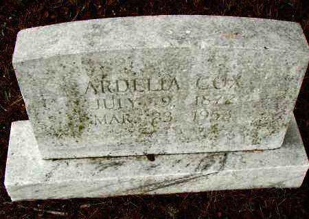 COX, ARDELIA - Pulaski County, Arkansas | ARDELIA COX - Arkansas Gravestone Photos